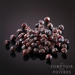 Dark Red peppercorns from Kampot