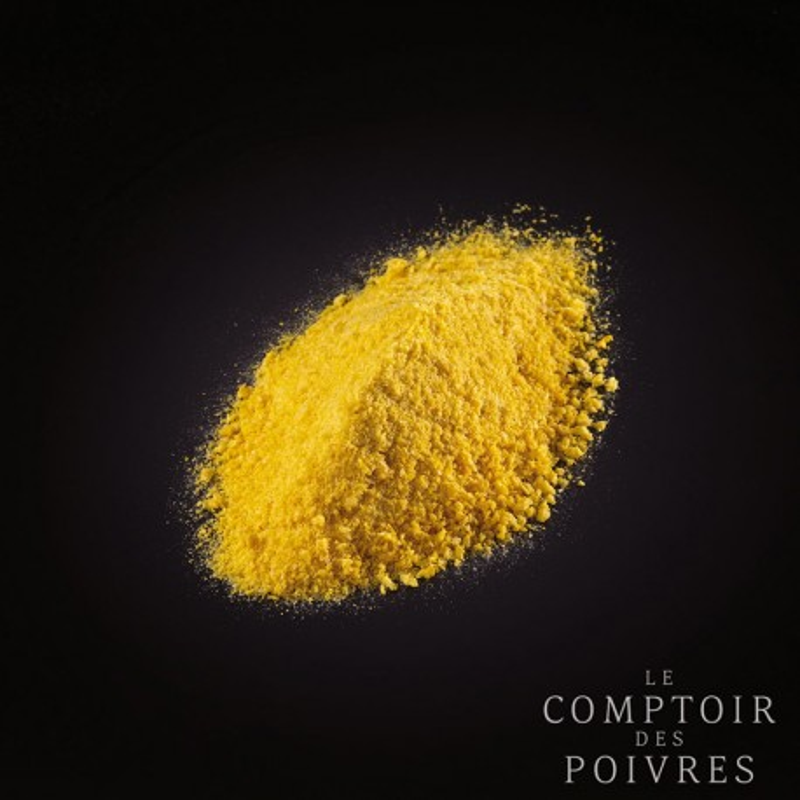 Lyophilised mikan tangerine bark powder
