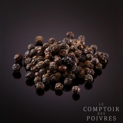 Black peppercorns from Ba Ria