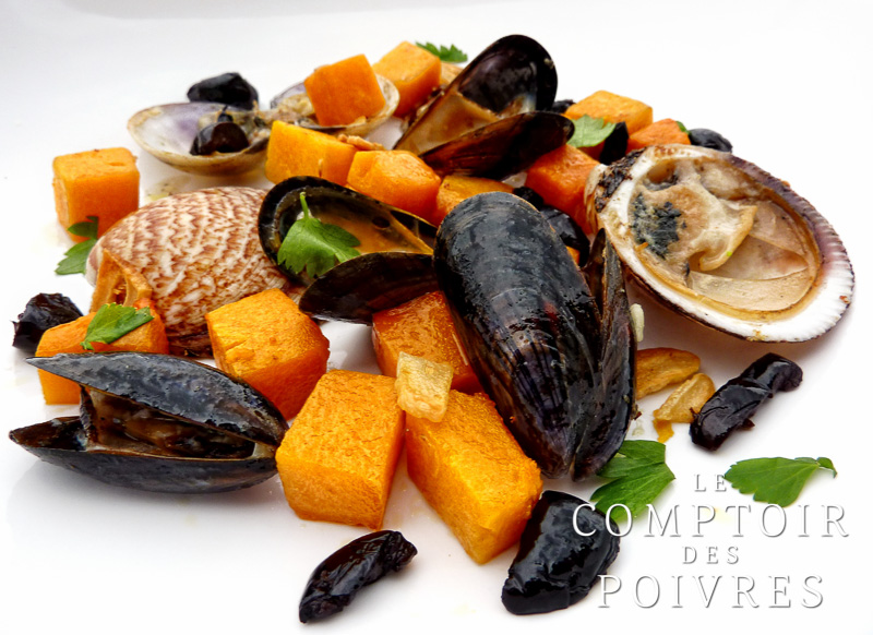 Courge aux coquillages
