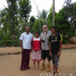 Olivier Derenne avec le producteur du poivre du Kérala