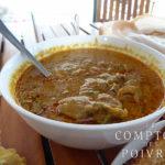 Repas indien du Kérala