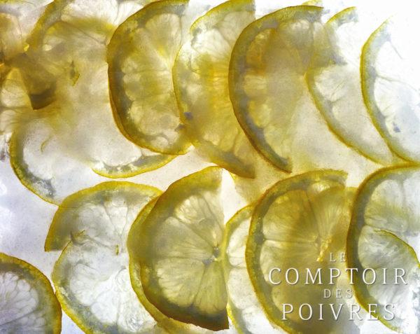 Fraîcheur d'agrumes au gingembre, limoncello et sirop de poivre sauvage
